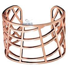 【錶飾精品】CK 飾品 Calvin Klein KJ1TPF1001 女性 手環 KJ1T 白鋼 玫瑰金 千頌伊