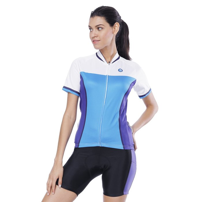 【Paladin】女款短袖車衣褲套裝 :: 鋰魚