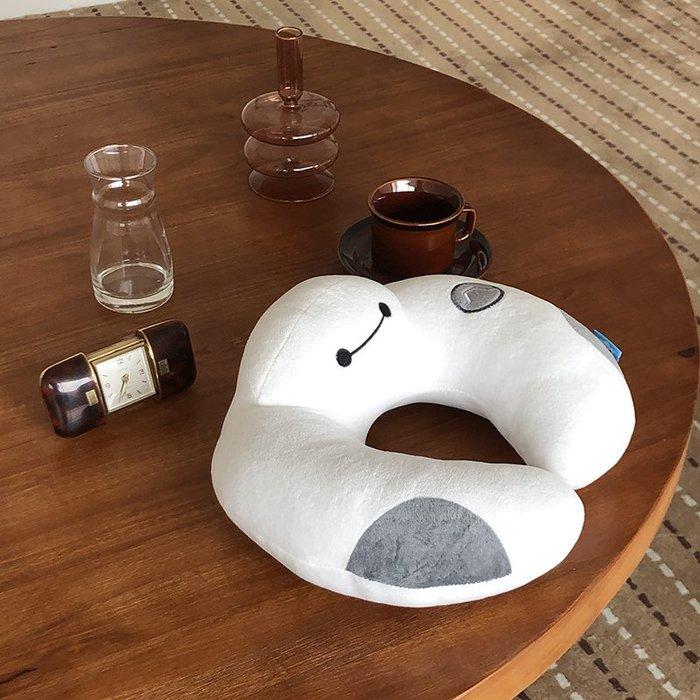馨幫幫 可愛U型枕頭卡通護頸枕飛機汽車旅行枕午睡辦公室頸椎枕頭
