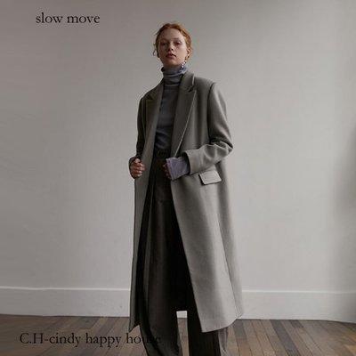C.H.-cindy happy house韓國slow move 品牌韓製羊毛90% 外套1911021-10代購