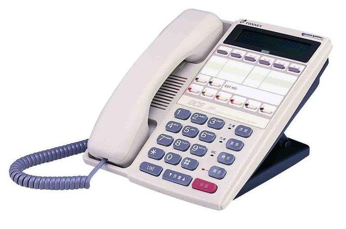 數位通訊~全新品 通航 TD-8315 D 螢幕型 通航 數位話機  TONNET   DCS