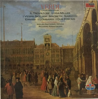 {夏荷美學生活小舖}VERDI  Choruses ARMSTRONG Welsh National Opera