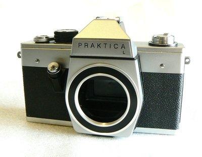 【悠悠山河】M42機械相機 -- 比FM2更堅固耐用 德國 Pentacon Praktica L *~淨美品~*