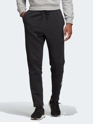 [麥修斯] ADIDAS MH BOS Pnt FL 運動長褲 刷毛 舒適 LOGO 黑白 男款12 DT9952 新北市