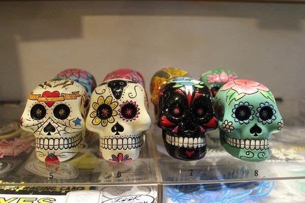 (I LOVE樂多)(少見)墨西哥骷髏頭(亡靈節)存錢桶  8種款式 精緻彩繪塗鴉