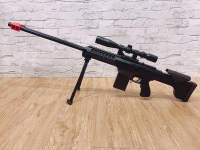【炙哥】第一代 狙擊槍 巴雷特 JF21 手動水彈槍 退彈殼 用6-7MM水彈  多送十個彈殼 生存遊戲 CS SF