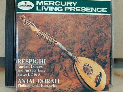 Dorati,Respighi-Airs&Dances,Birds,FountainsOf Rome杜拉第,雷史碧基-古代歌謠及舞曲,鳥,羅馬噴泉,巴西印象等。