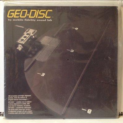 Geodisc Cartridge Alignment Tool 唱臂、唱頭調整規