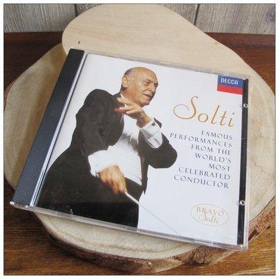 二手CD Solti SAMPLER & BOOKLET 喬治·蕭提 英籍匈牙利裔指揮家 [玩泥巴]