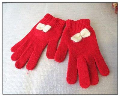 『好夠讚』1元 一元起標 無底價 冬天 兒童 女孩 女童 女生 手套 保暖 針織手套 毛線 防寒 防風 標多少,賣多少