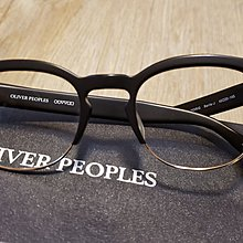 日製眉鏡 Oliver Peoples Noir/G Barrie-J made in japan glasses frame