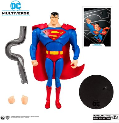 全新 Mcfarlane Toys 麥法蘭 DC Multiverse Animated Superman