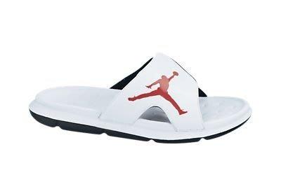 NIKE JORDAN RCVR SLIDE SELECT運動拖鞋558888-101白色紅*尺寸詢問*