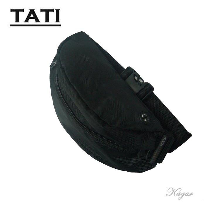 加賀皮件 TATI水餃型腰包 大空間 可放寶特瓶 水壺 防水輕巧 型男必備 8025