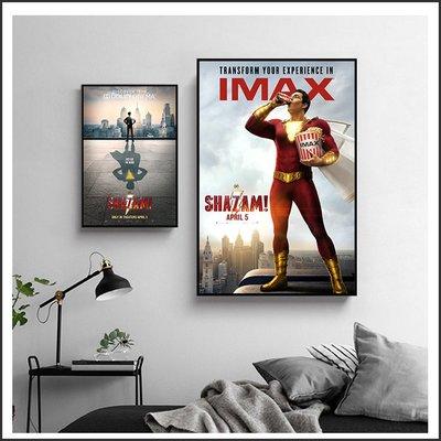 日本製畫布 電影海報 沙贊 Shazam 掛畫 嵌框畫 @Movie PoP 賣場多款海報#