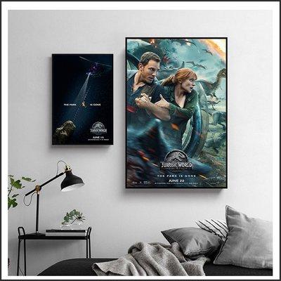 日本製畫布 電影海報 侏羅紀世界 殞落國度 Jurassic World 掛畫 無框畫 @Movie PoP ~