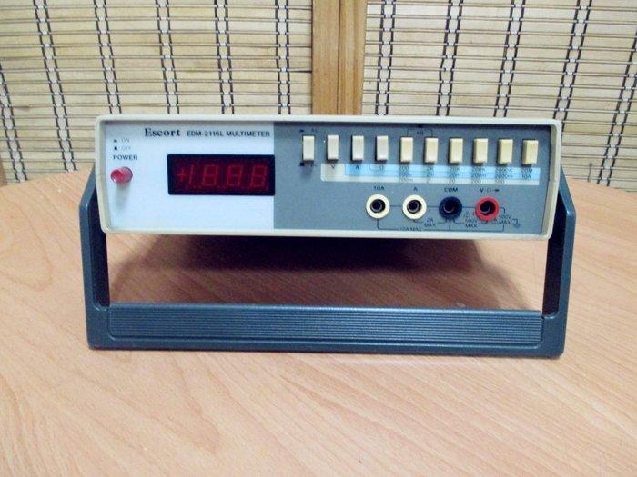 康榮科技二手儀器領導商Escort EDM2116L (EDM-2116L)3.5 Digital Multimeter