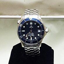 順利當舖  Omega/歐米茄  41mm大錶徑大型海馬300M防水專業潛水錶