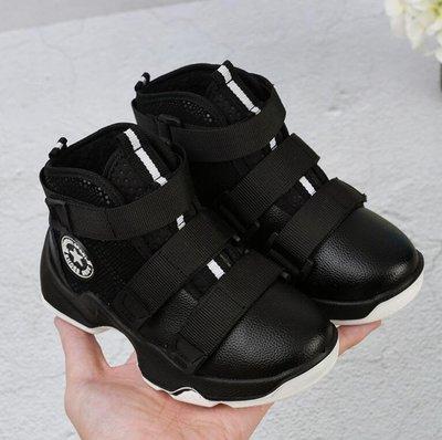 儿童棉鞋 男童鞋 加绒高帮鞋 保暖真皮皮鞋 二棉鞋—莎芭