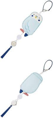 日本正版 Fieldwork LW045-1 鸚鵡 掛錶 懷錶 車票夾 藍色 日本代購