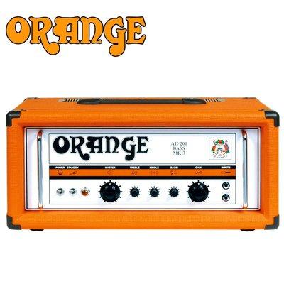 〖好聲音樂器〗英國製 ORANGE AD200 BASS MK3 Amp 真空管 音箱頭 擴大機 公司貨