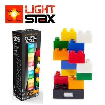 【樂GO】Light Stax亮亮積木.創意LED積木 JUNIOR系列/Starter 大顆粒 12PCS