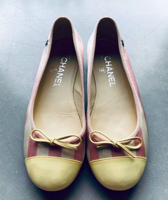 【R】Chanel |香奈兒twotone 平底鞋
