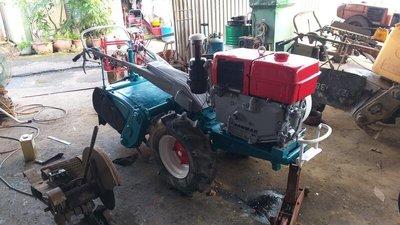 耕耘機 鬆土機 久保田 柴油18馬力 亞馬引擎