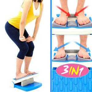 【推薦+】台灣製造3in1瑜珈拉筋板(內八外八調整)P260-730TS平衡板美腿機.多功能健身板哪裡買