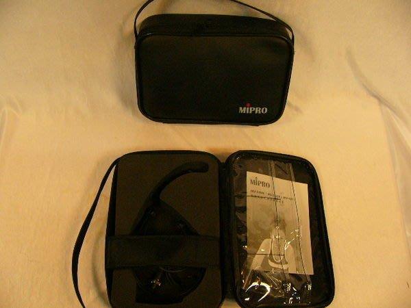 【昌明視聽】MIPRO MU-53HN 黑色 頭戴式 專用無線麥克風 需要搭配(專用)腰掛型發射器一起使用