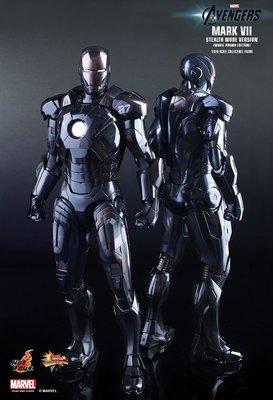 已開罰企 Hot Toys Ironman Mark 7 Stealth Mode Version 黑7