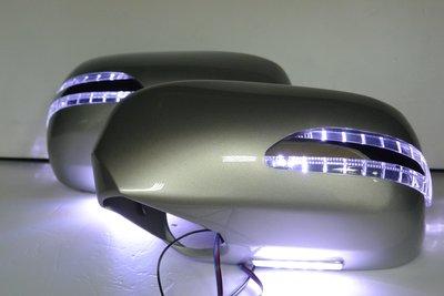 金強車業 LEXUS ES300(前期) 2001 原廠部品 單功能改雙功能後視鏡+殼附照地燈 免運 (素材)