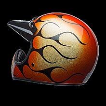 【金剛安全帽】美國 BELL MOTO3 CHEM CANDY FLAMES 火焰 限量 復古 全罩 山車帽 越野