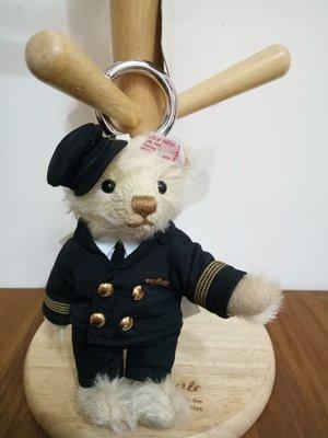 天使熊雜貨小舖~日本帶回航空小熊鑰匙圈...