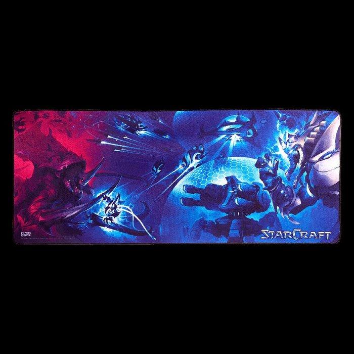 【丹】暴雪商城_StarCraft My Life for Aiur! Gaming Desk Mat 星海爭霸 滑鼠墊