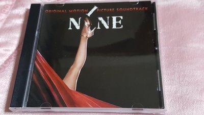 R西洋團(二手CD)NINE ORIGINAL MOTION PICTURE SOUNDTRACK(字)