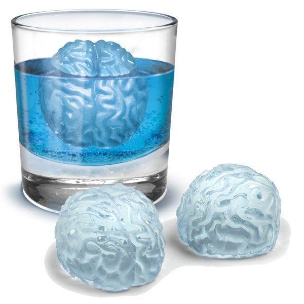 冰凍大腦 子彈造型 製冰器 造型冰塊
