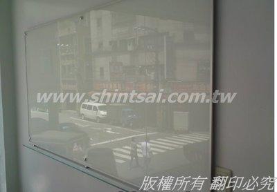 shintsai玻璃工程(新北市)磁性玻璃  會議室玻璃白板 活動式玻璃白板  美觀耐用 商業空間 玻璃施工