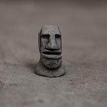 【曙muse】原創微笑黑摩艾磁鐵 造型磁鐵 療癒商品 擺飾 裝飾 loft 工業風 咖啡廳 民宿 餐廳 住家