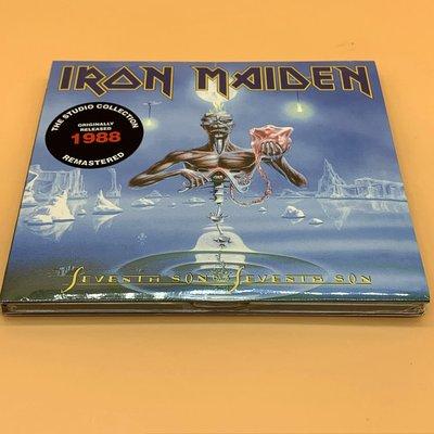 全新CD音樂 重金屬的惡魔 鐵娘子Iron Maiden - Seventh Son of a Seventh CD