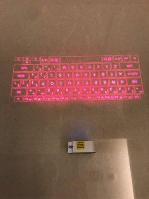二手良品 CTX VK-200 雷射投影虛擬鍵盤 3C產品 藍牙連結 已測試 功能正常 無盒裝