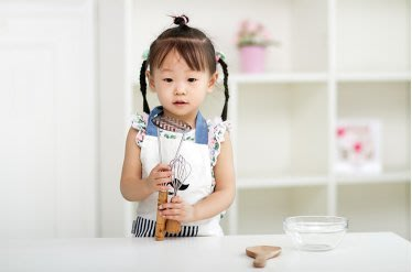 圍裙甜心~兒童烘焙吃飯畫畫圍裙圍兜-胡子款【現貨】