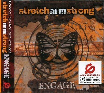 K - STRETCH ARM STRONG - Engage - 日版 - NEW