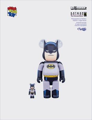ArtLife @ MEDICOM BE@RBRICK 100+400% DC BATMAN ANIMATED 蝙蝠俠