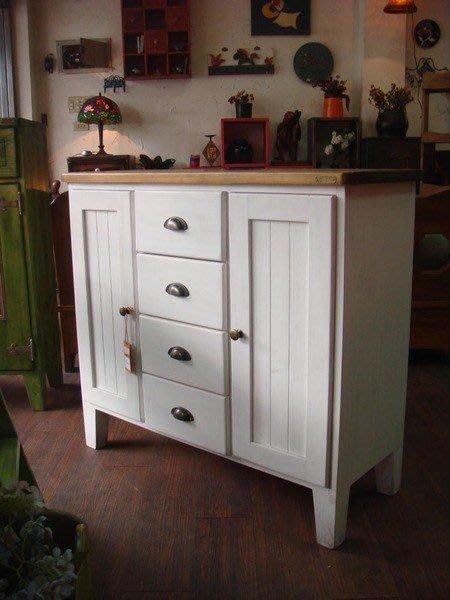 原木工坊~原木家具訂做 歐式雙色收納櫃 功能多變 擺設不受限...