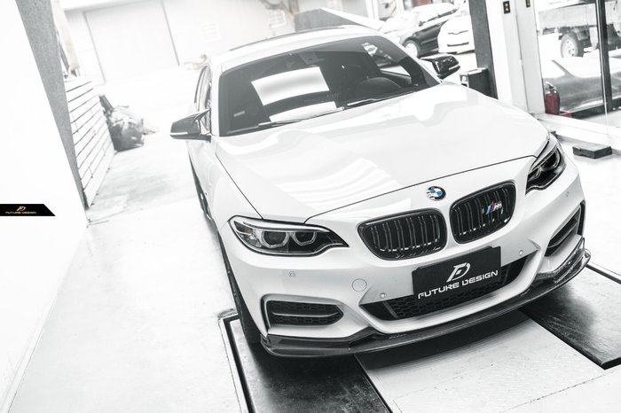 【政銓企業有限公司】BMW F22 235 240 MTECH專用 3D款 抽真空 高品質 卡夢 前下巴 免費安裝 現貨