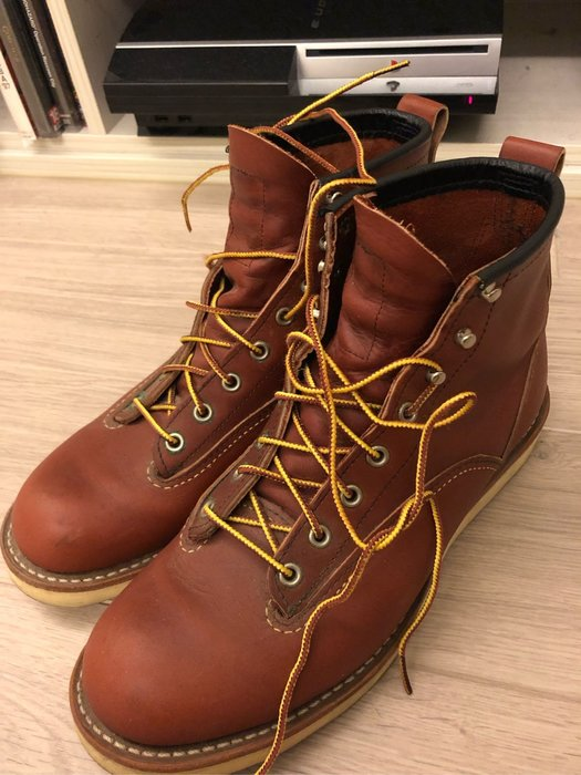 [KittyHawk]Red Wing 2907 8.5D 酒紅 Lineman 即將停產