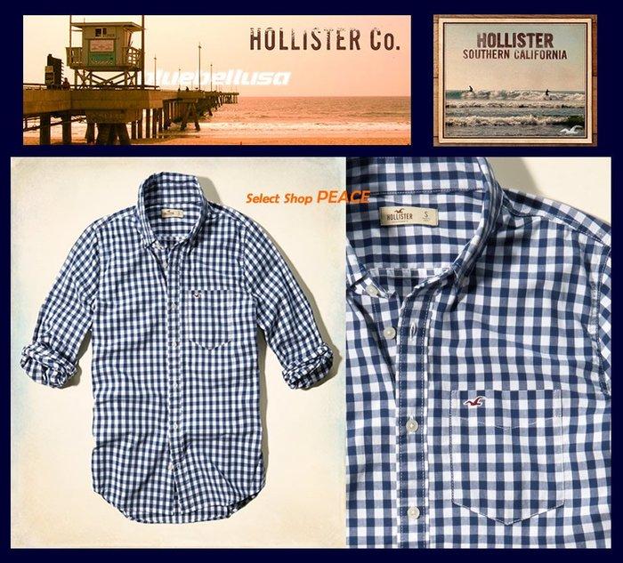 Hollister 美國【現貨↘打7.5折】L號 長袖 襯衫 Clobberstones Check