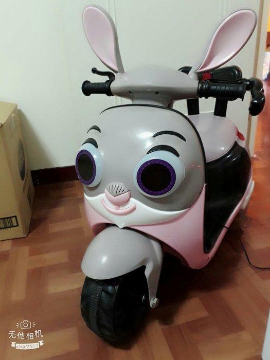 原價2800【限量版-可面交】幼兒卡通音樂故事學英文電動機車騎乘玩具MP3可充電