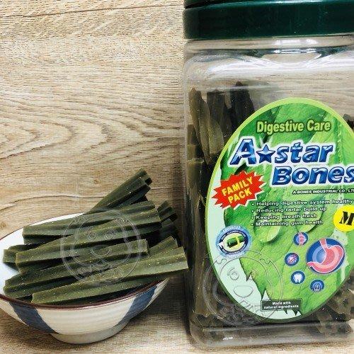 【🐱🐶培菓寵物48H出貨🐰🐹】阿曼特空心六星棒潔牙骨(幫助消化)M號單支 特價15元 自取不打折(蝦)
